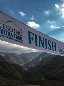 Diabetes Adventure finish Lesotho Ultra Trail
