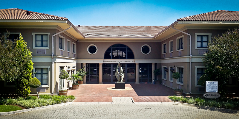 The Centre for Diabetes and Endocrinology in Johannesburg, South Africa is an example of integrated, multidisciplinary diabetes care clinic.