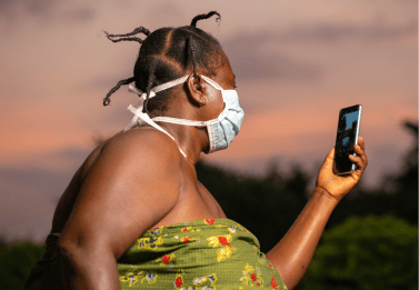 Diabetes, COVID-19 and mobile phone in Africa