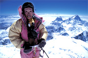 Tamae Watanabe climbs Mt. Everest successfully at age 63. Photo:http://englishpeopledaily.com.cn
