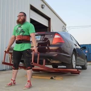 rodney miller lifting car