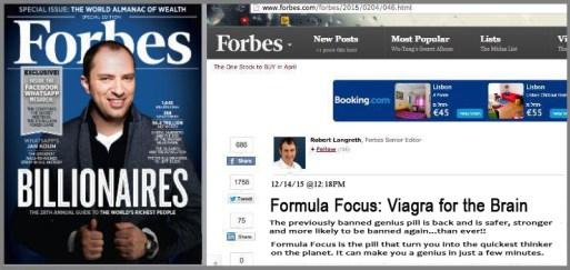 Formula Focus scam