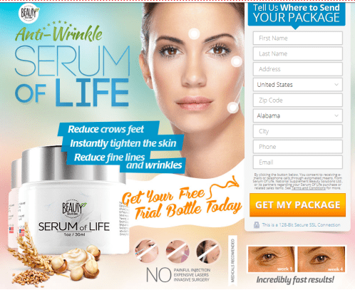 Serum of Life Anti-Wrinkle Cream Review
