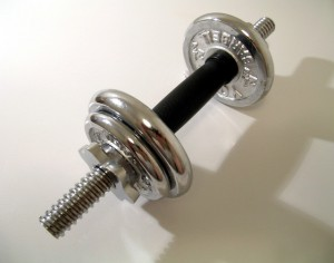 A set of free weights