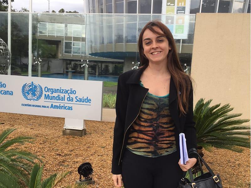 ADJ Advocacy Coordinator Vanessa Pirolo