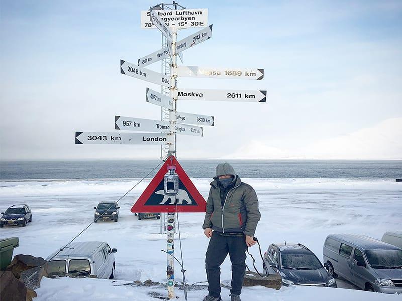 Appleton in Svalbard, Norway