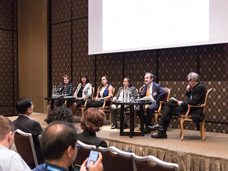 IDF panel discussion at 71st WHA