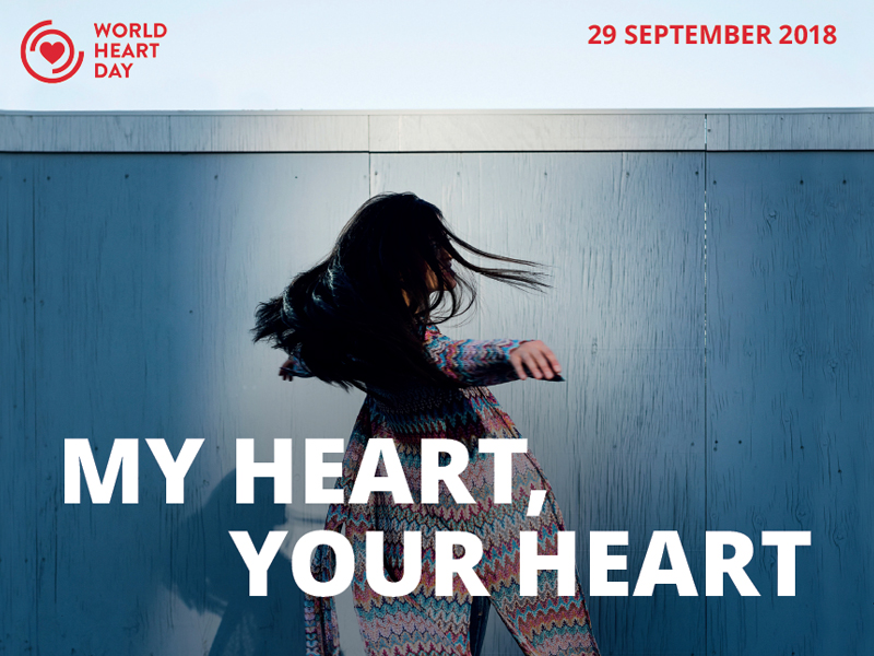 World Heart Day 2018 poster image