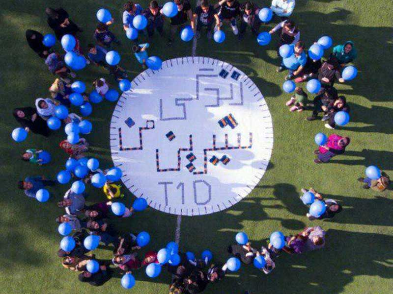 World Diabetes Day in Yazd, Iran (2018)