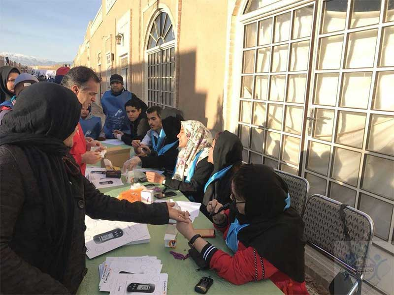 Blood glucose screening in Yazd, Iran