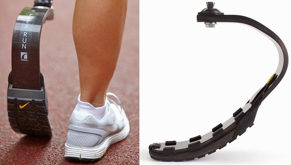 disfraz Egomanía Viaje  Industrial Design Trumps Traditional Anatomy: Nike Designed a Shoe For  Prosthetic Running Blades – DF Blog