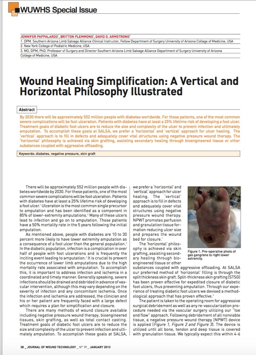 A Vertical and Horizontal Healing Strategy Illustrated