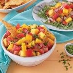 Tomato, Chive and Mango Salsa
