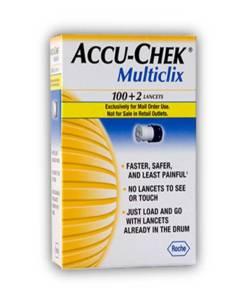 ACCU-CHEK MULTICLIX LANCETS 102ct.