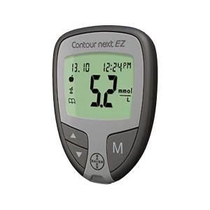 Bayer-Contour-NEXT-EZ-Glucose-Meter