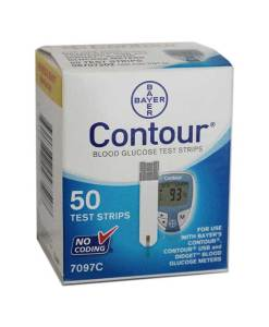 BAYER CONTOUR TEST STRIPS 50ct. AUTOSHIP