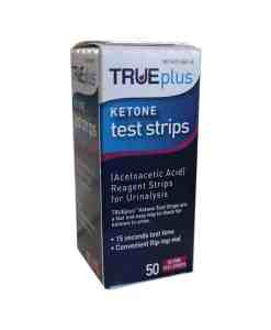 TRUEPLUS KETONE TEST STRIPS 50ct.