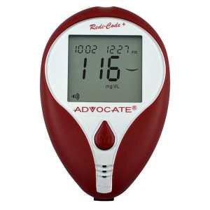 ADVOCATE Redi-Code+ Speaking Blood Glucose Meter