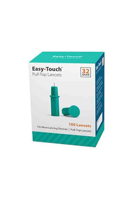 easytouch pull top lancets 32 gauge