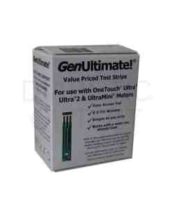 GENULTIMATE TEST STRIPS 50ct. AUTOSHIP