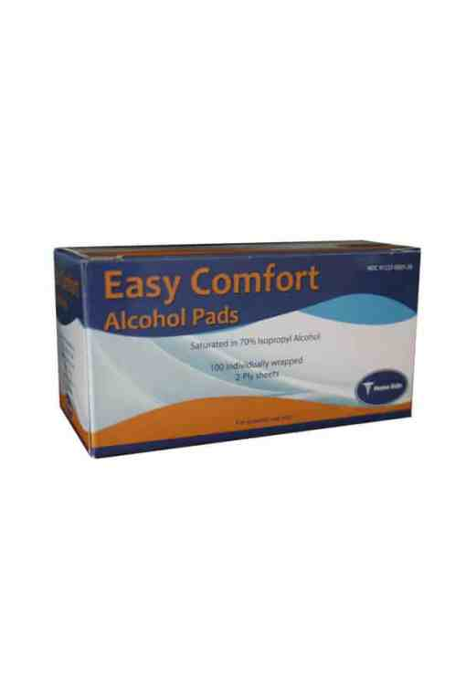 EASY COMFORT ALCOHOL PREP PADS 100ct.
