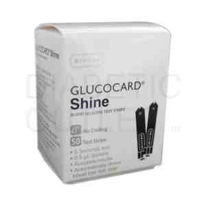 Arkray GlucoCard Shine test strips
