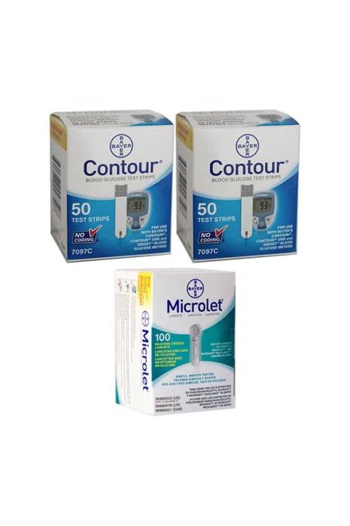 CONTOUR + MICROLET LANCETS