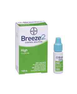 BAYER BREEZE2 CONTROL SOLUTION HIGH LEVEL 2.5ml