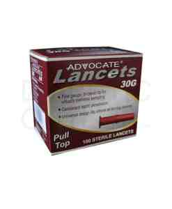 ADVOCATE PULL TOP LANCETS 100ct. 30G