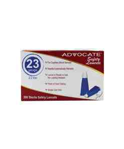 advocate-safety-lancets-23g-200-count-box