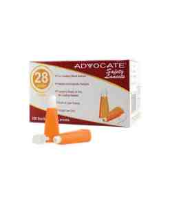 advocate-safety-lancets-28g-200-count-box