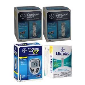 bayer-contour-next-test-strips-ccontour-nex-ez-meter-bayer-microlet-lances