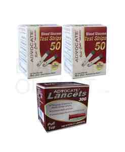 Advocarte-redicode-test-strips-+-pull-top-lancets