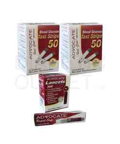 Advocate-Redi-Code-test-strips-+-Twist-Top-lancets-+-red-dot-lancing-device
