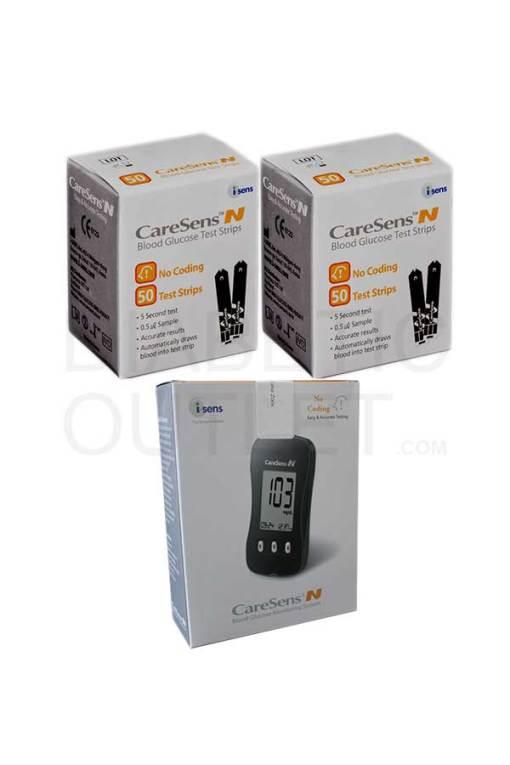 CareSens-N-test-strips-+-meter