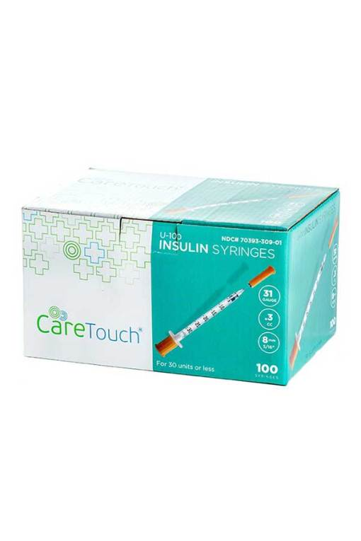 Caretouch-insulin-syringe-31g-0.3cc-8mm