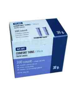 STAT COMFORT THINS PULL-OFF LANCETS 100ct.