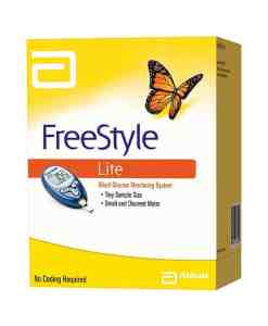 ABBOTT FREESTYLE LITE GLUCOSE METER KIT