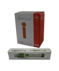 Caretouch-lancing-device-caretouch-twist-top-lancets