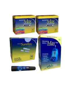 Nova-max-test-strips-nova-max-plus-nova-sureflex-lancets-lancing-device