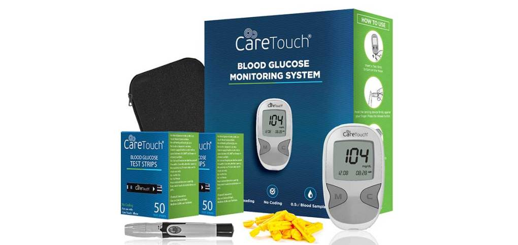 Caretouch-blood-glucose-monitoring-system