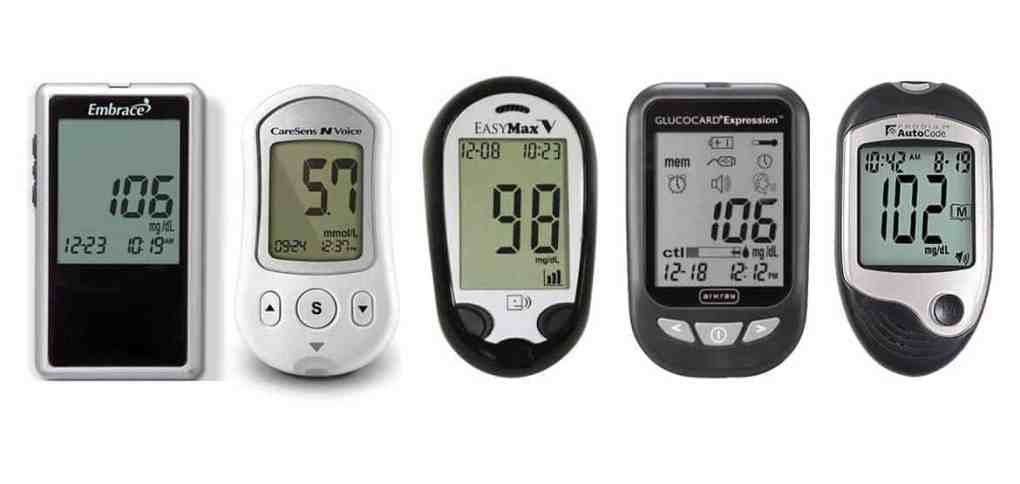 SPEAKING-BLOOD-GLUCOSE-METERS