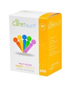 CareTouch-lancets-twist-top-multi-color-200-count-30G