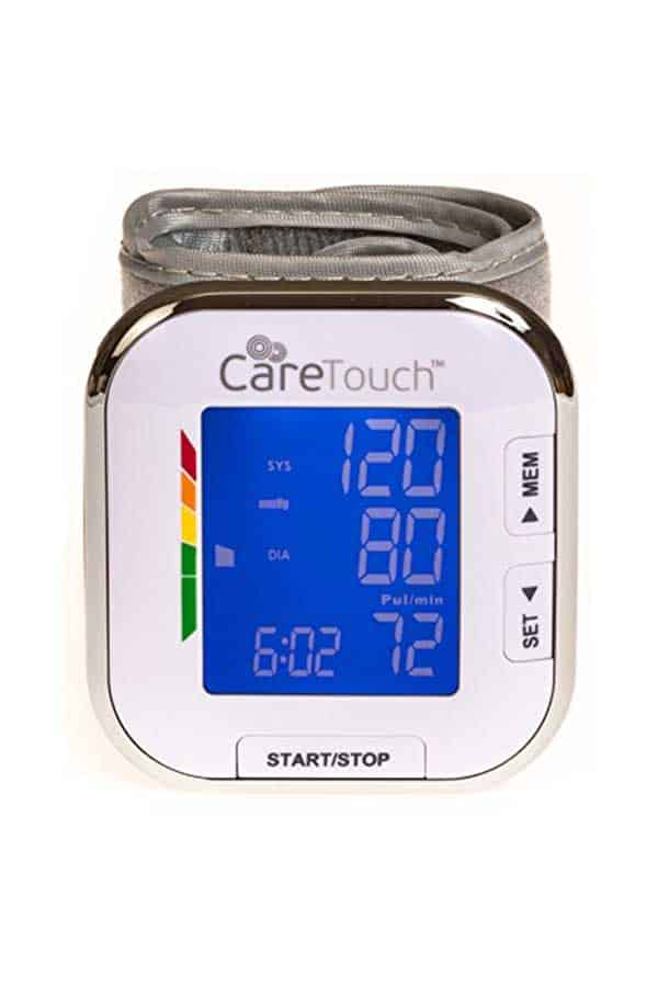 CARETOUCH FULLY AUTOMATIC WRIST BLOOD PRESSURE MONITOR PLATINUM SERIES 5 5
