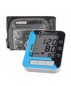 CARETOUCH FULLY AUTOMATIC ARM BLOOD PRESSURE MONITOR CLASSIC EDITION 8″ – 12″ CUFF SIZE