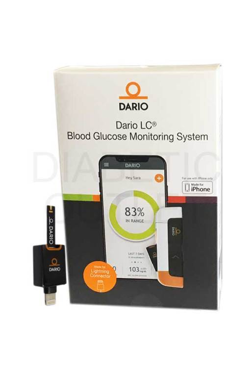 Dario-LC-blood-glucose-monitro-lightning-connector
