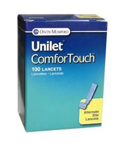 Owen-Mumford-Unilet-ComforTouchAlternate-Site-Testing26G