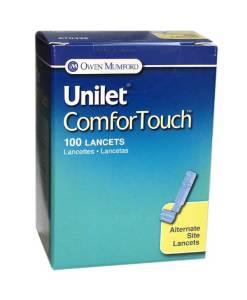 OWEN MUMFORD UNILET COMFORTOUCH LANCETS 100/BOX