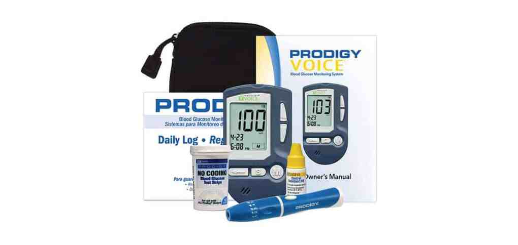 Prodigy-Voice-Blood-Glucose-Meter-Kit