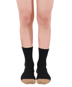diabetic socks copper based classic black